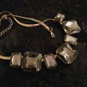 Jewelry - Giant Smoky Stone Choker